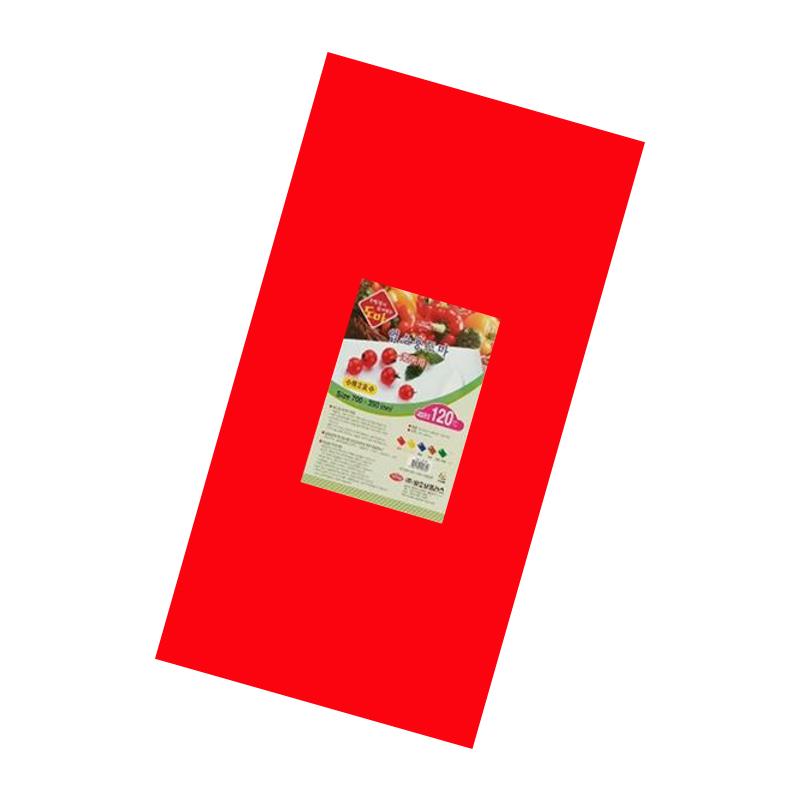 Tabla Plastica Roja 70CM x 35CM