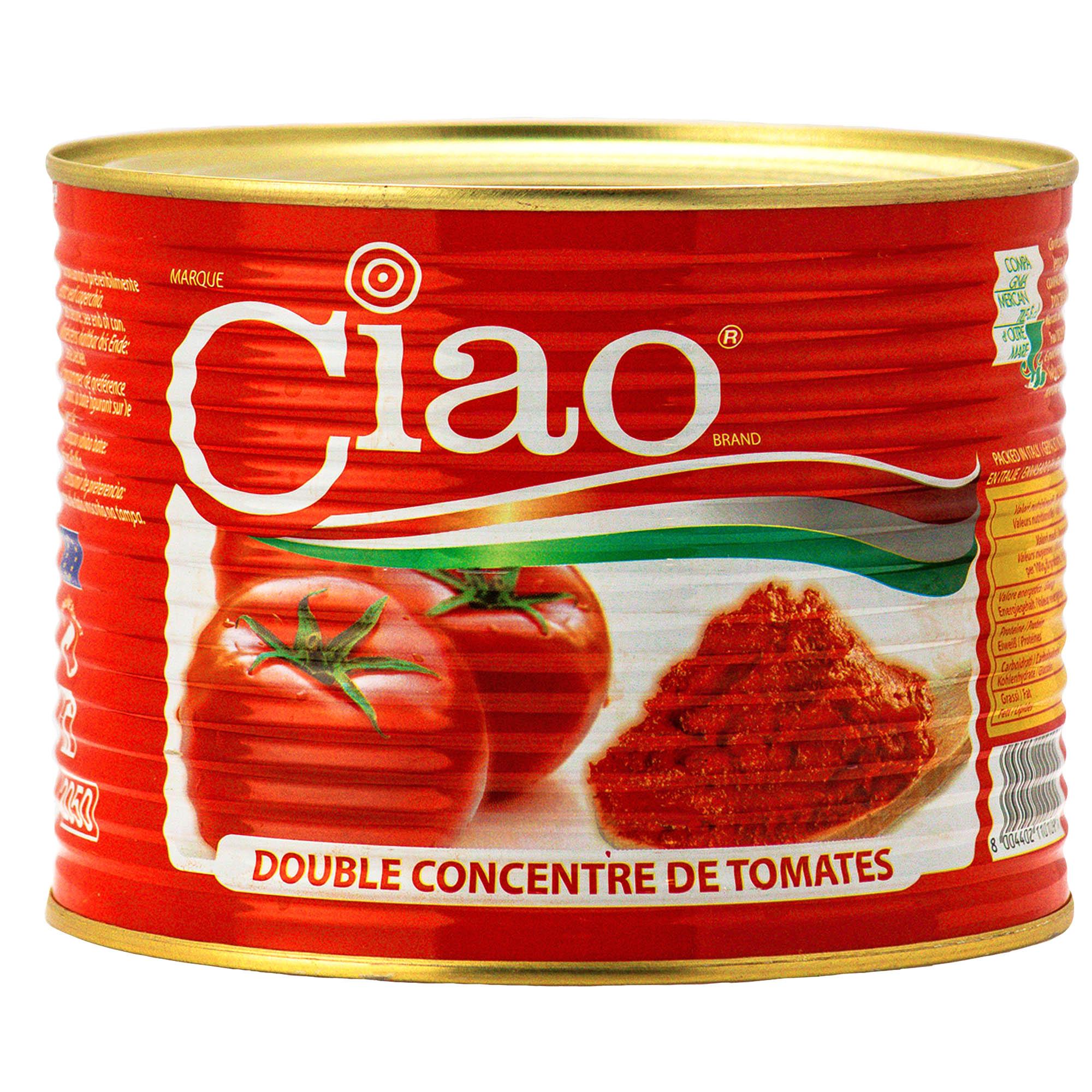 Doble Concentrado de Tomate 2.2KG x 6