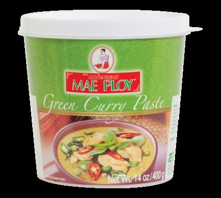 Curry verde en pasta 400GR x 24