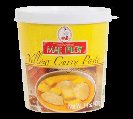 Curry amarillo en pasta 400GR x 24