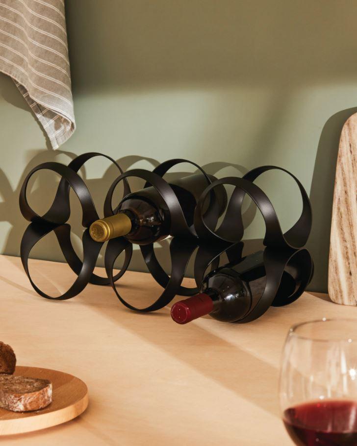 Ribbon - Bottle Rack - Black
