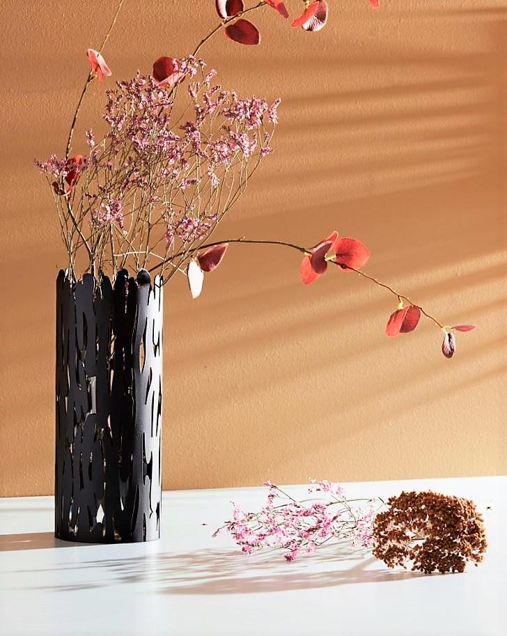 Barkvase - Vase in Black