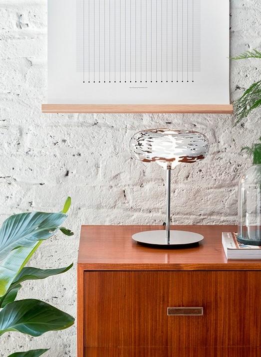 Barklamp - Table Lamp in Steel