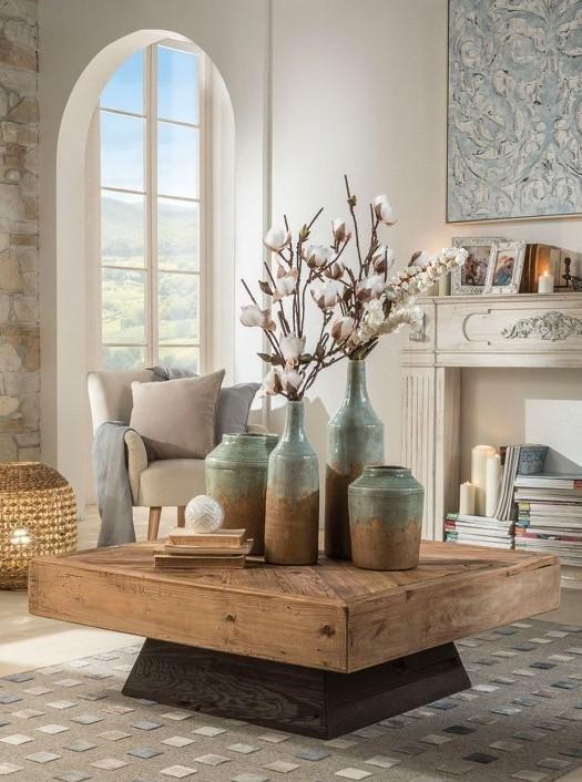 Komodo - Wood Coffee Table