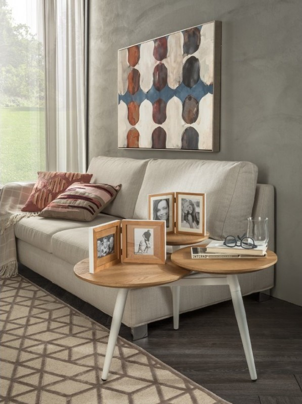 Loft - Wood Table with 3 tops