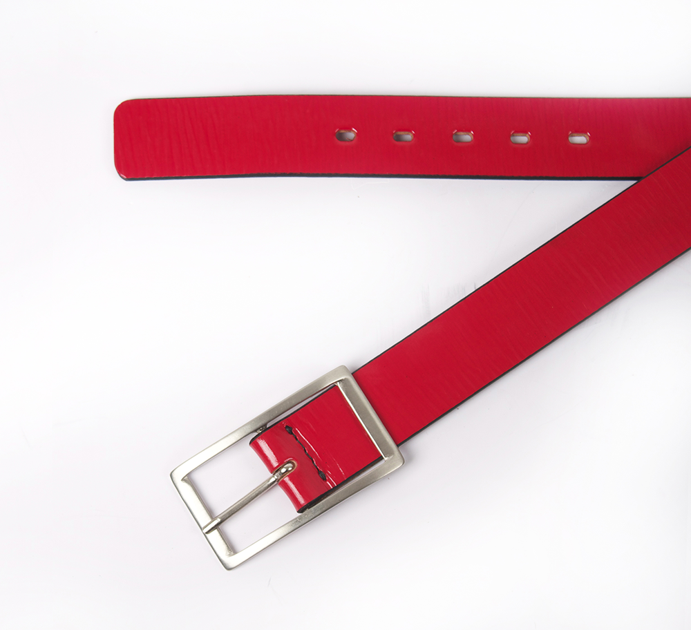 Cinturón Steel Rojo