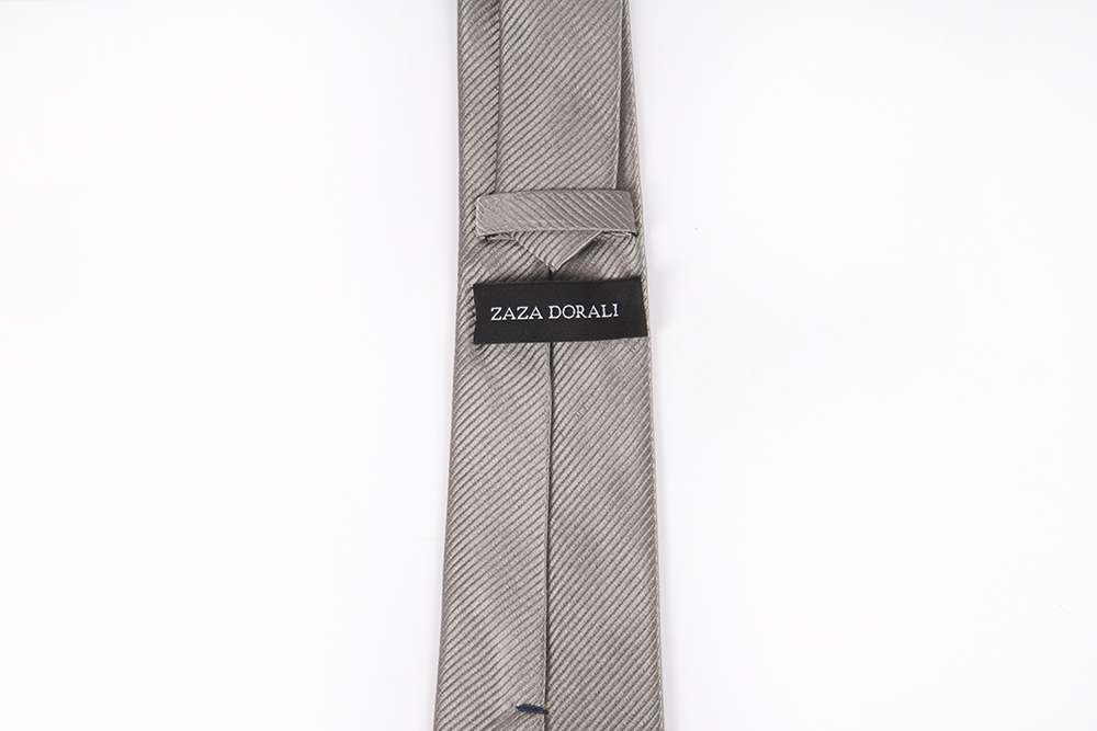 Corbata Gris liso