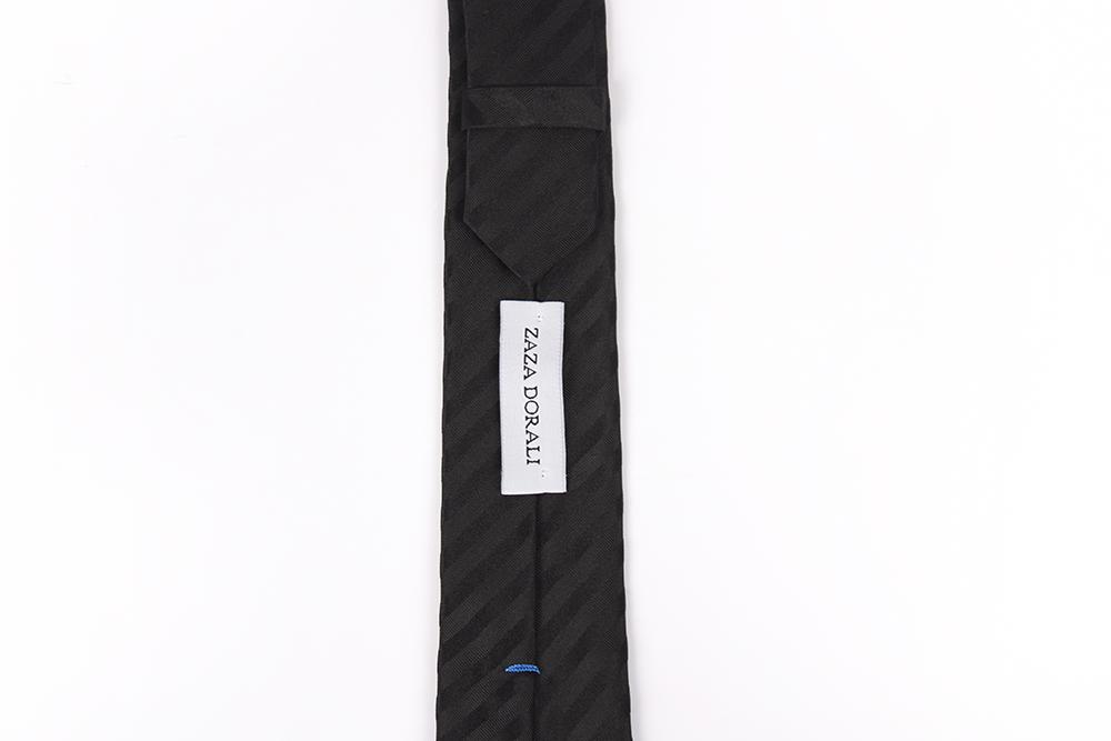 Corbata Negro líneas