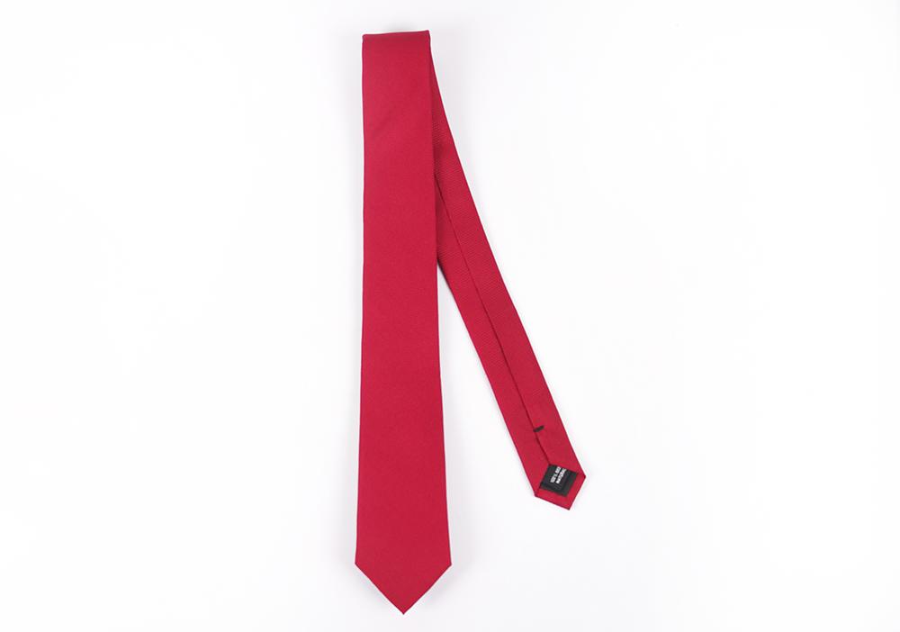 Corbata Rojo puntos
