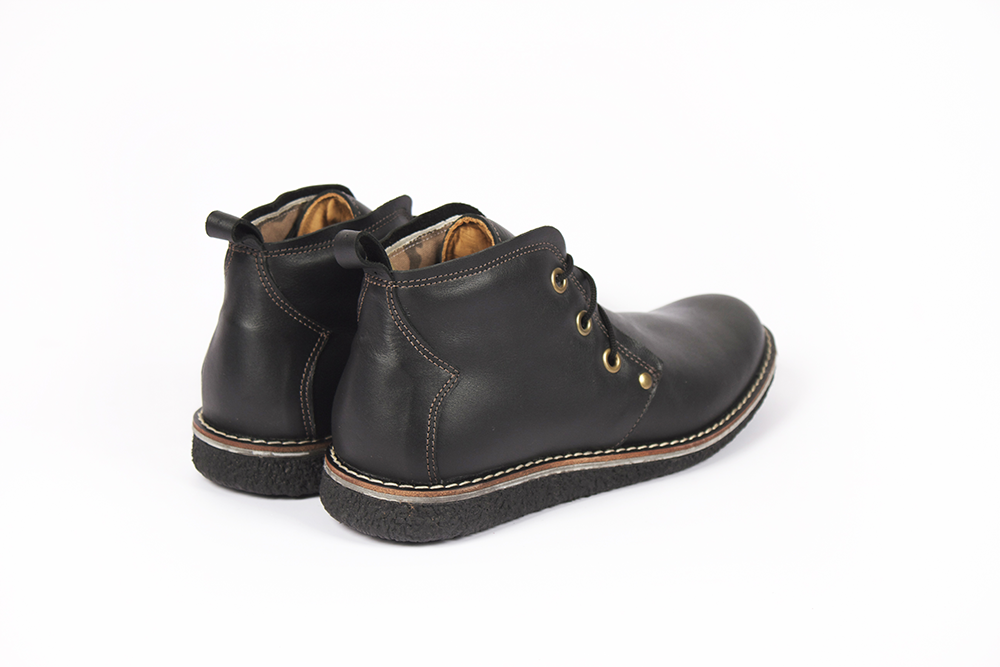 Zapatos Centurión Bota Negro