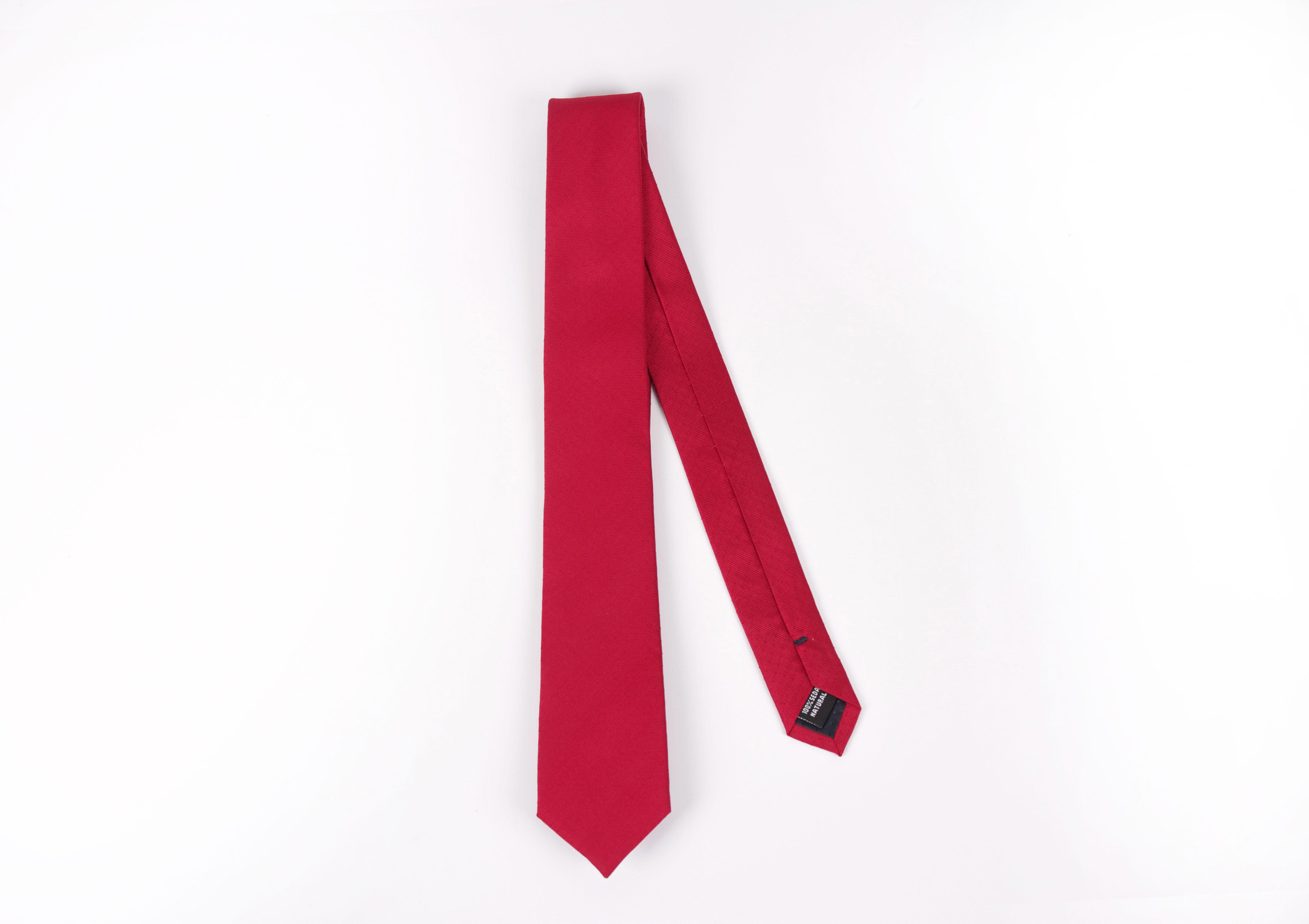 Corbata Rojo puntos rojos