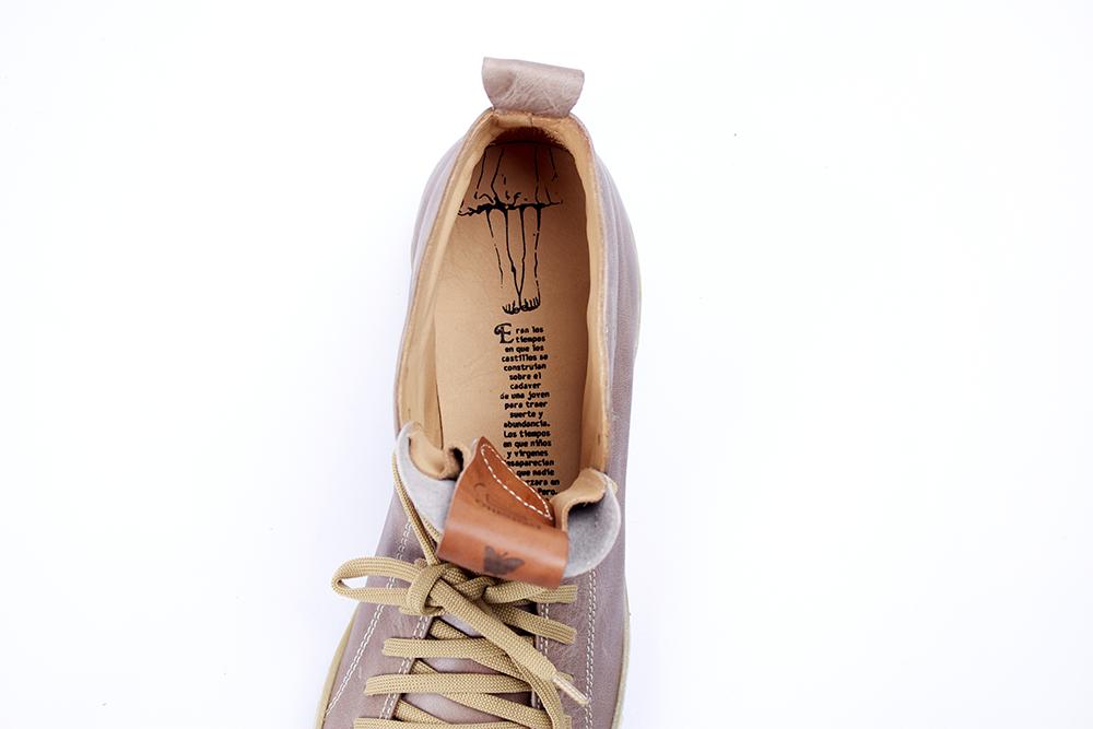 Zapatos Track 22 Visón