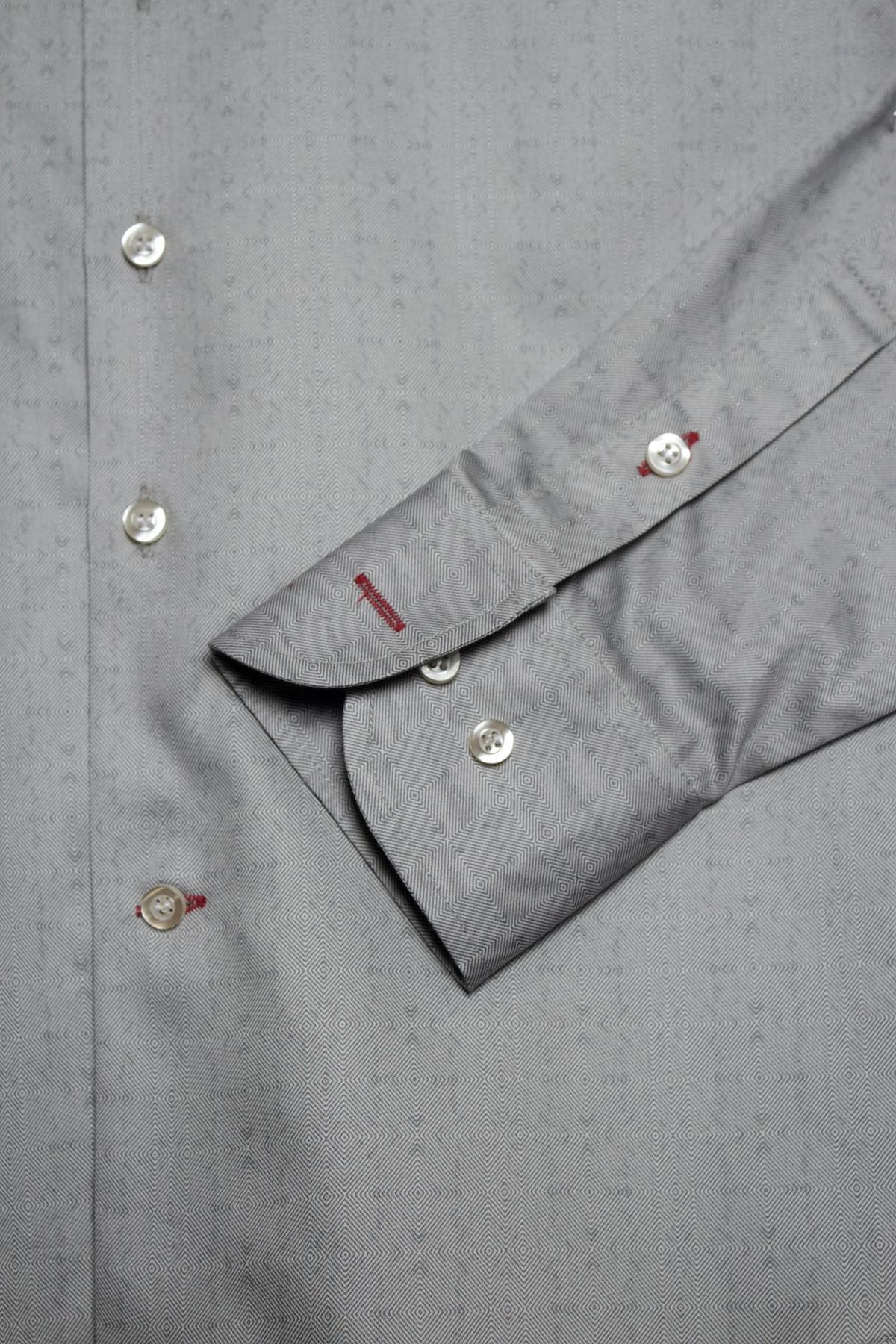 Camisa ROMBOS Plata
