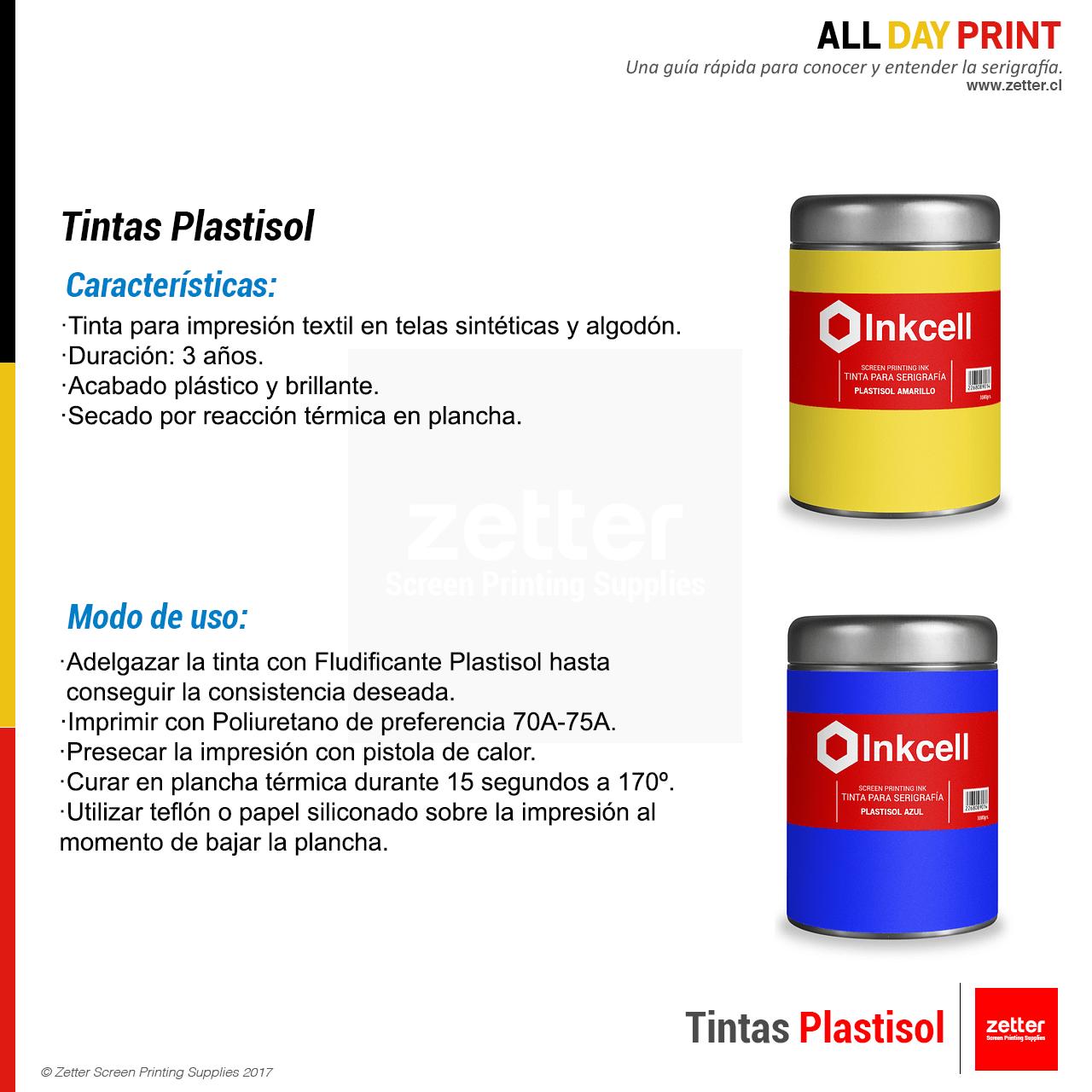 Tintas Plastisol