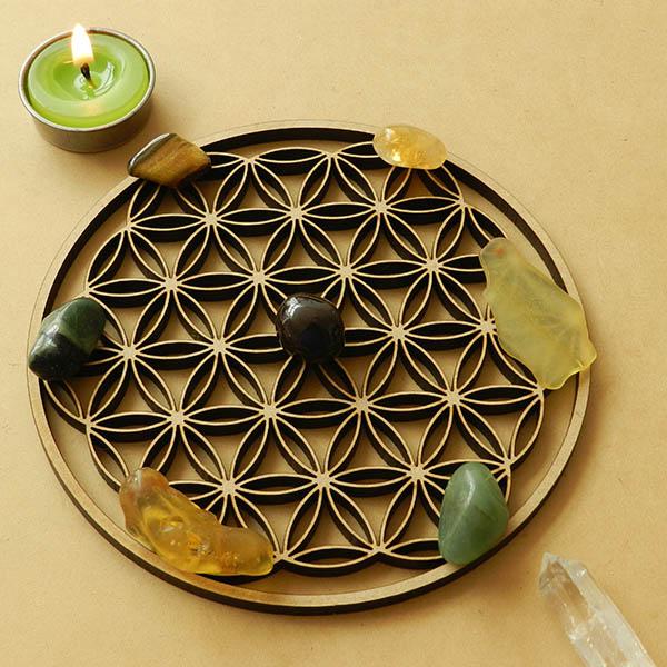 Set Mandala  Abundancia - Mediano