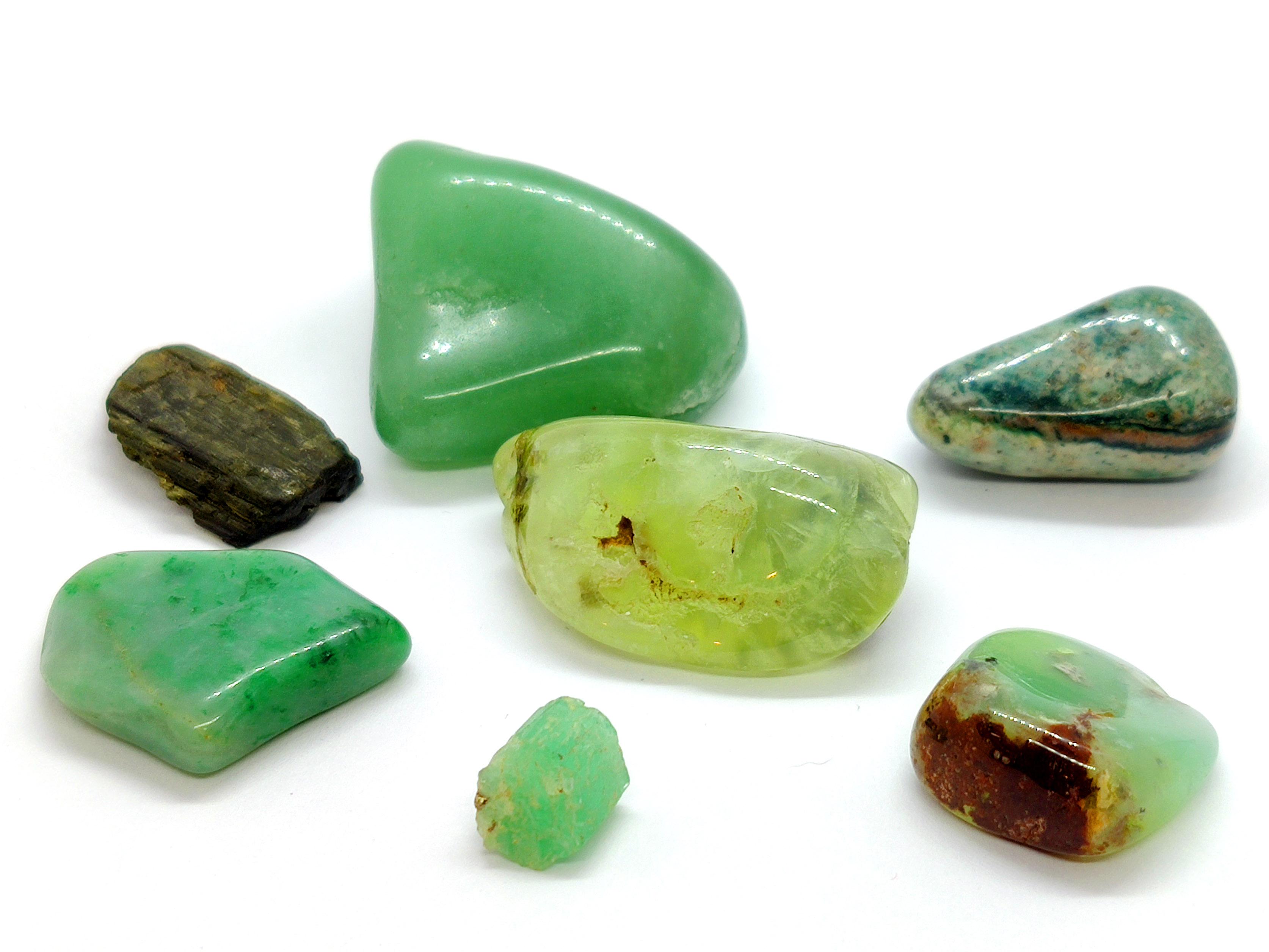 Cristales  Frecuencia Verde