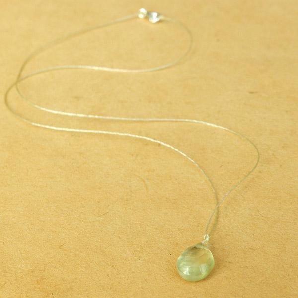 Collar Sanación -Prehnita - Minimal