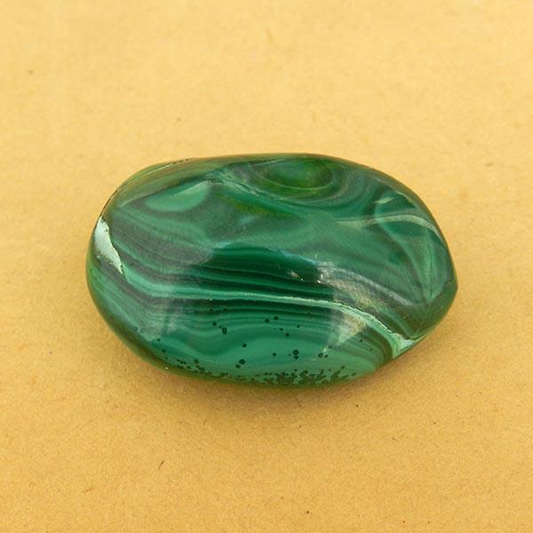 Malaquita - 1 unidad de 2 x 2,5 cm