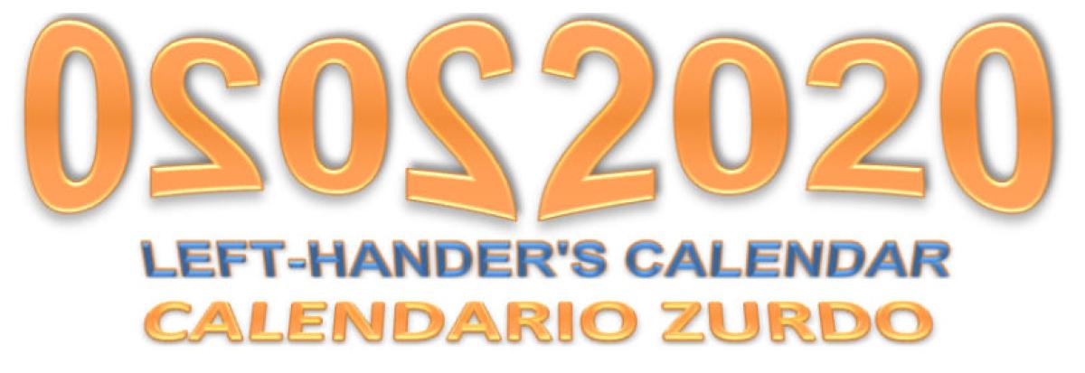 Nuevo Calendario Zurdos 2020